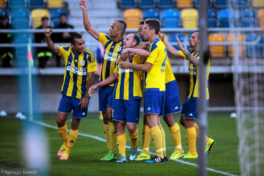 Piłkarze Arki Gdynia będą faworytem meczu pucharowego z Chojniczanką