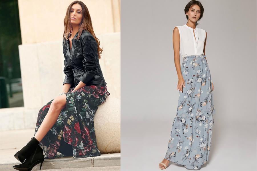 Nowość Długie spódnice na wiosnę i lato - sprawdź, jakie modele warto wybrać TY45
