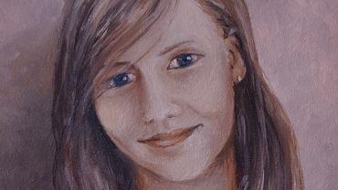 Klasa Martyny złożyła się na namalowanie ze zdjęcia jej portretu