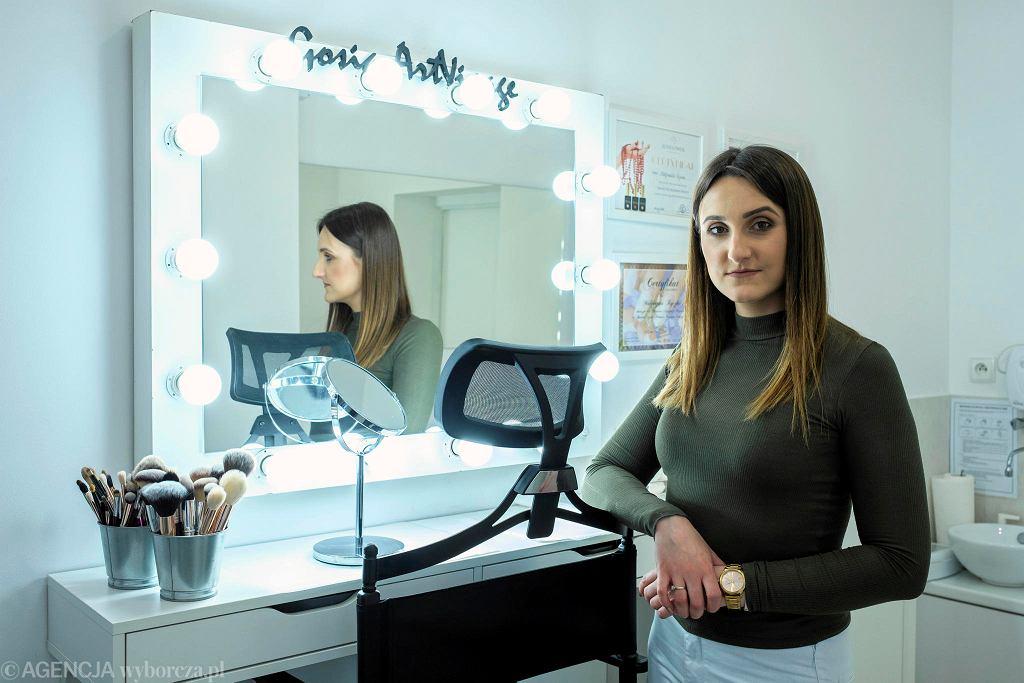 Małgorzata Ryczko, właścicielka salonu kosmetycznego Gosia ArtVisage