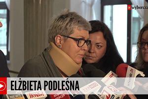 Próbowała zatrzymać Marsz Niepodległości, poturbowali ją narodowcy. Polska ulega faszyzacji i otwiera się na rasizm - twierdzi Elżbieta Podleśna