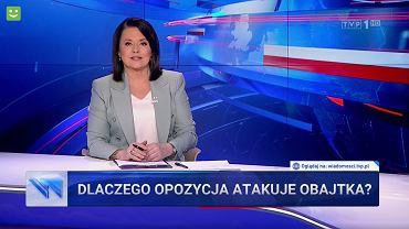 'Wiadomości' TVP z 17.03.2021