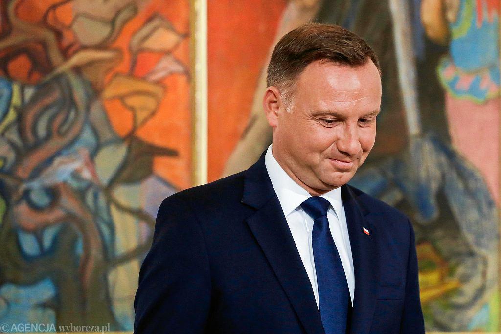Prezydent Andrzej Duda nie weźmie udziału w obchodach na Westerplatte