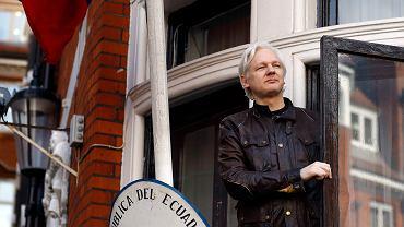 Julian Assange. Zdjęcie ilustracyjne