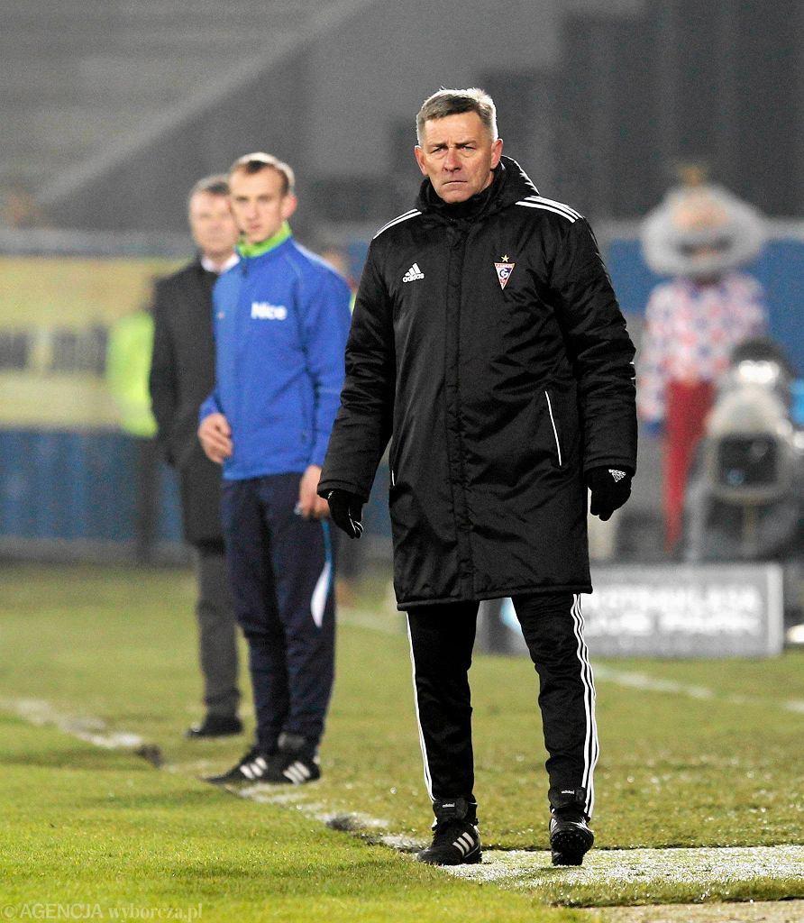 Zabrze. Górnik - Śląsk Wrocław 3:3. Józef Dankowski