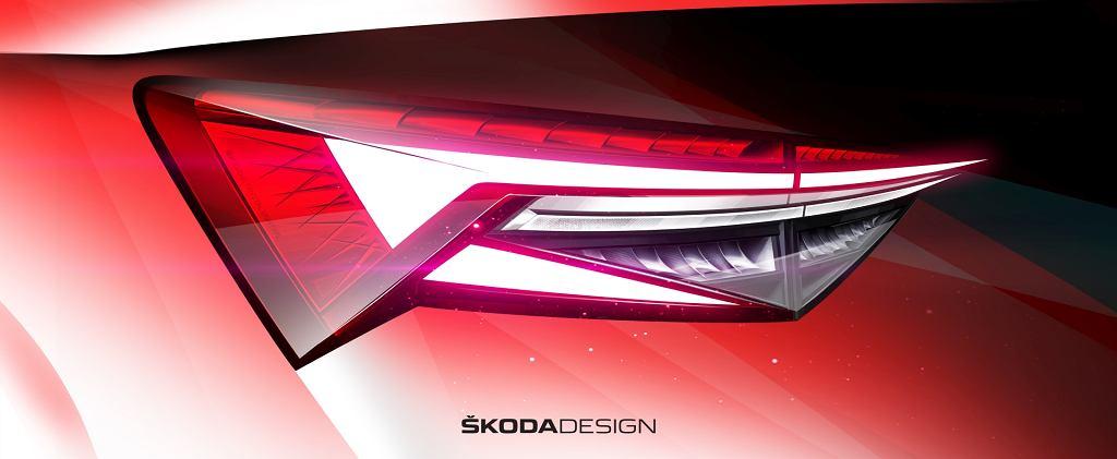 Nowa Skoda Kodiaq szkice