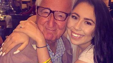 Melanie Salazar i jej kolega ze szkoły/dziadek Rene Neira
