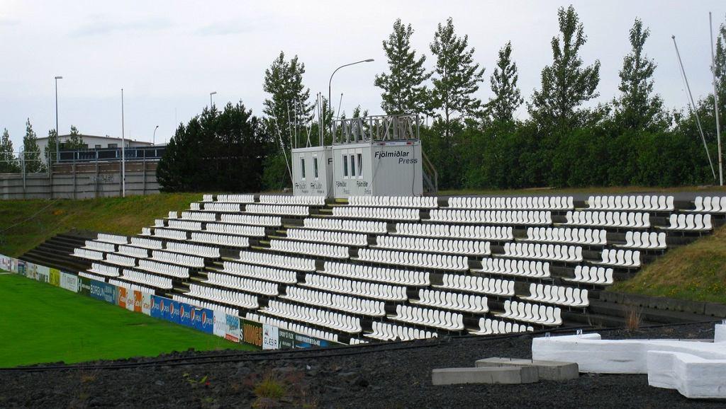 Stadion w Hafnarfjördur na Islandii