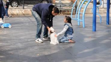 Ten eksperyment pokazuje, jak łatwo podejść dziecko