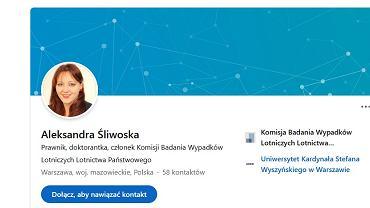 Aleksandra Śliwoska, fot. LinkedIn