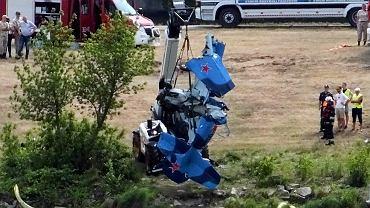 Wypadek na Pikniku Lotniczym w Płocku