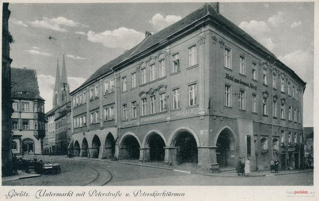 Untermarkt w Gorlitz