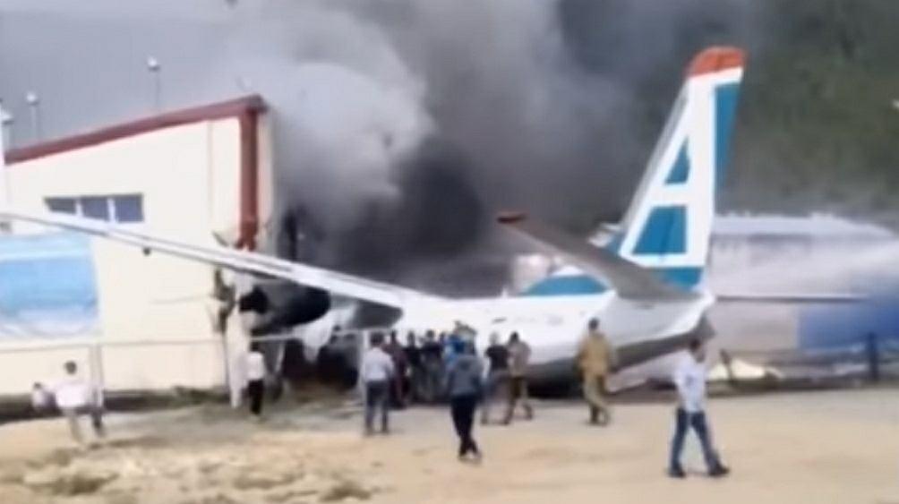 Katastrofa samolotu w Rosji, Buriacja.