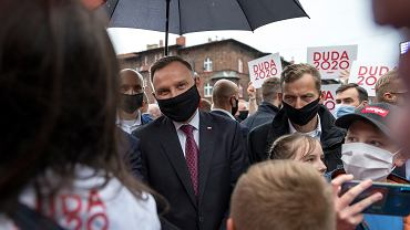 5.06.2020, Katowice, Andrzej Duda