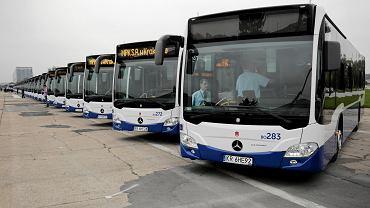 Autobusy MPK marki Mercedes