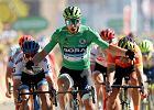 Peter Sagan wygrał etap Tour de France. Łukasz Wiśniowski chciał uciekać