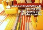 Jak wyczyścić dywan sodą?