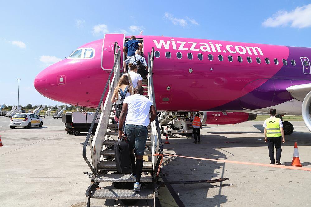 Wizz Air podał listę 57 tras, na których poleci z Polski w najbliższym czasie