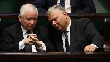Prezes Pis Jaroslaw Kaczynski , Marek Suski
