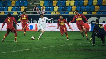 Polska - Czarnogóra 6:0 w meczu reprezentacji do lat 21. Dariusz Formella