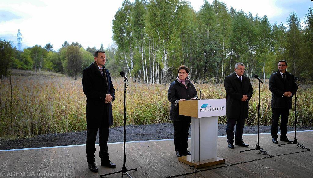 Premier Beata Szydło ogłosiła w środę w Katowicach początek realizacji tego projektu