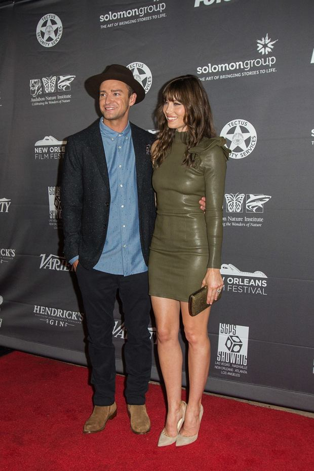 158333, Jessica Biel and Justin Timberlake Attended The Book of Love Premiere in New Orleans, LA on October 15, 2016. The Book of Love stars Jessica Biel, Jason Sudeikis and Maisie Williams and is directed by Bill Purple. Justin Timberlake served as music supervisor for the movie soundtrack. new Orleans, Louisiana - Saturday October 15, 2016.  Photograph: ?? , PacificCoastNews. Los Angeles Office (PCN): +1 310.822.0419 UK Office (Photoshot): +44 (0) 20 7421 6000 sales@pacificcoastnews.com FEE MUST BE AGREED PRIOR TO USAGE