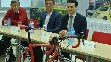 Konferencja prasowa Huzar Bike Academy