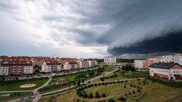 Gdzie jest burza? Wał szkwałowy w Rzeszowie