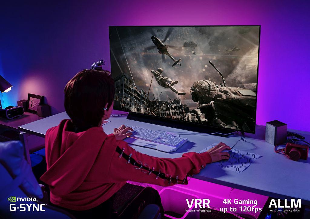 LG OLED - telewizor idealny dla graczy