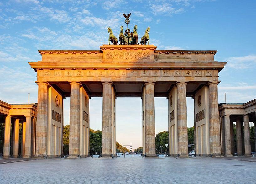 Berlin. Brama Brandenburska