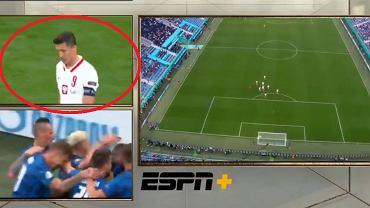 Tak Robert Lewandowski zareagował na gola dla Słowacji