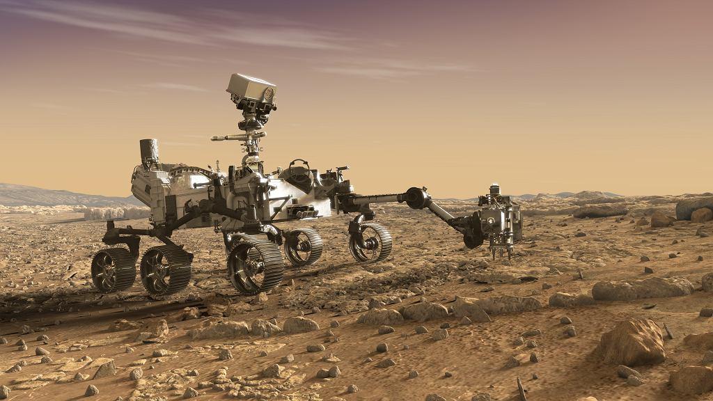 Łazik marsjański NASA - Misja Mars 2020
