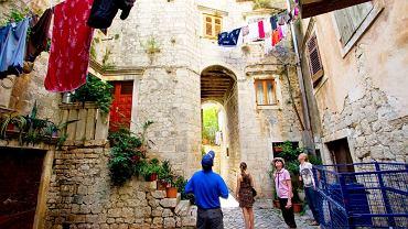 Chorwacja Trogir - zaułki Trogiru