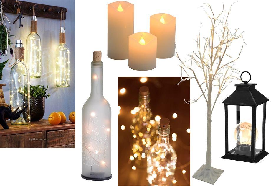 Dekoracje LED całoroczne to dobry sposób na ocieplenie wnętrza