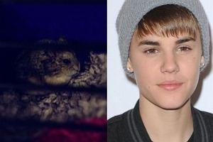 Justin Bieber i jego chomik Pac
