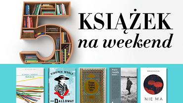 5 książek na weekend