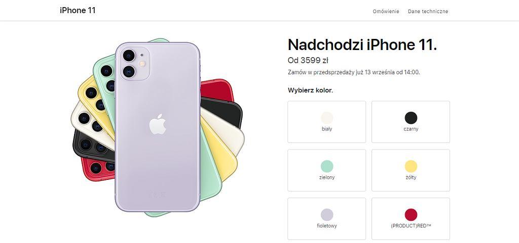 iPhone 11 - cena w Polsce