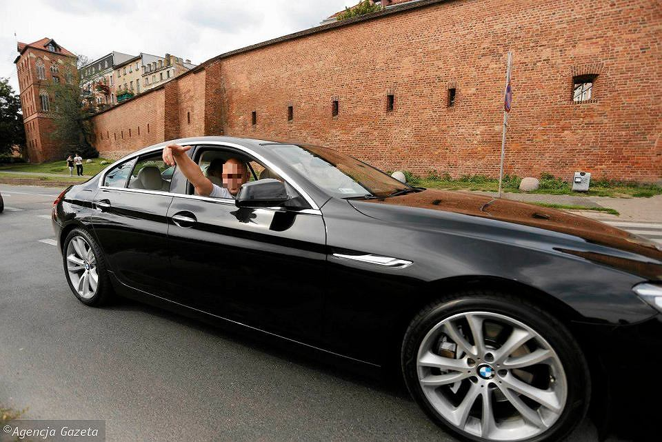 BMW na ulicach Torunia (zdjęcie ilustracyjne)