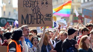 20.09.2019, Monachium, demonstracja proekologiczna 'Piątek dla przyszłości'