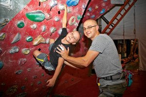 Sporty dla dzieci - wspinaczka