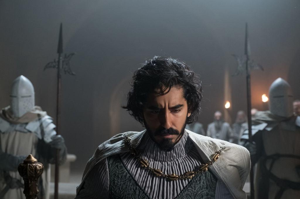 Kadr z filmu 'Zielony Rycerz. Green Knight'