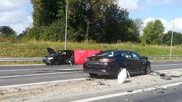 Wypadek na obwodnicy Olecka