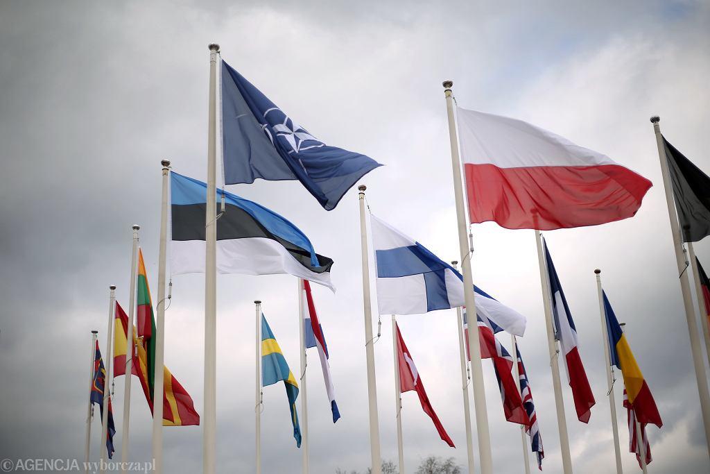 Flagi państw NATO