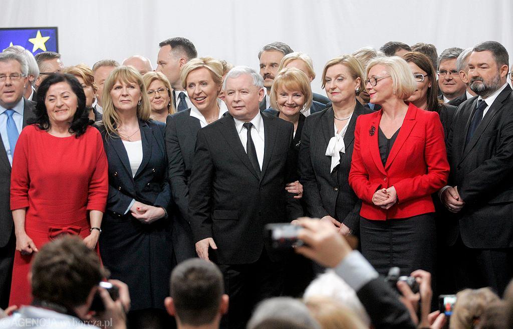 Prezentacja list wyborczych PiS do PE