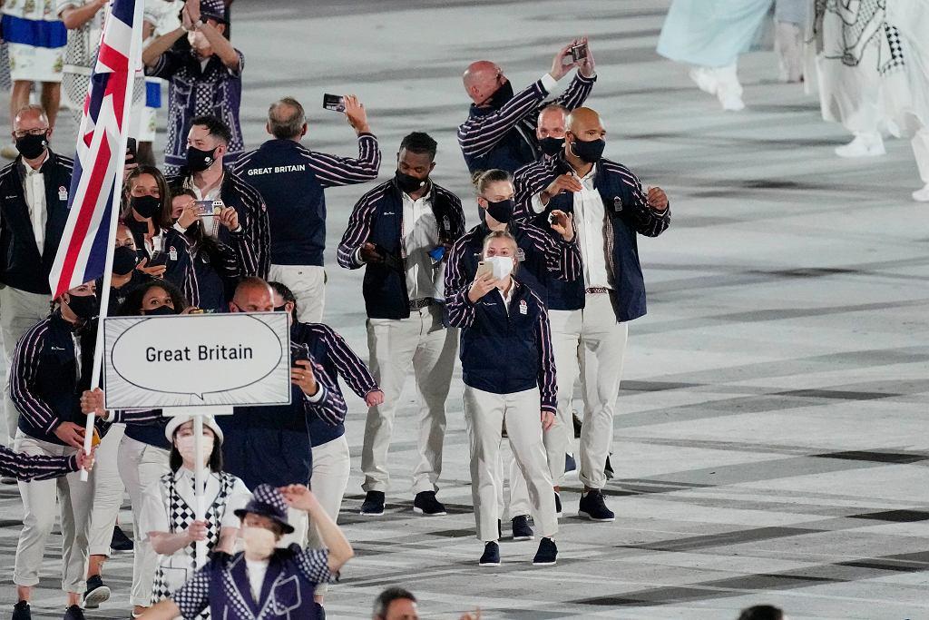 Brytyjczycy - ceremonia otwarcia igrzysk olimpijskich