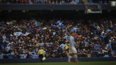 "Kibice Manchesteru City w ""Let's all do the Poznan"""