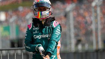 Sebastian Vettel zdyskwalifikowany! Stracił miejsce na podium w GP Węgier!