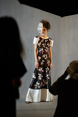Chanel Haut Couture SS 2013 - backstage