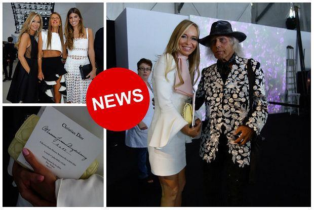 Joanna Przetakiewicz na Paris Fashion Week