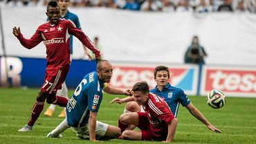 Lech Poznań - Wisła Kraków 0:0. Łukasz Trałka